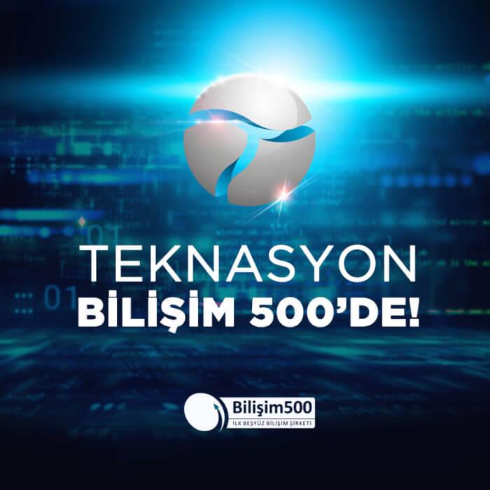 Teknasyon, Türkiye'nin en iyi bilişim şirketleri arasında!