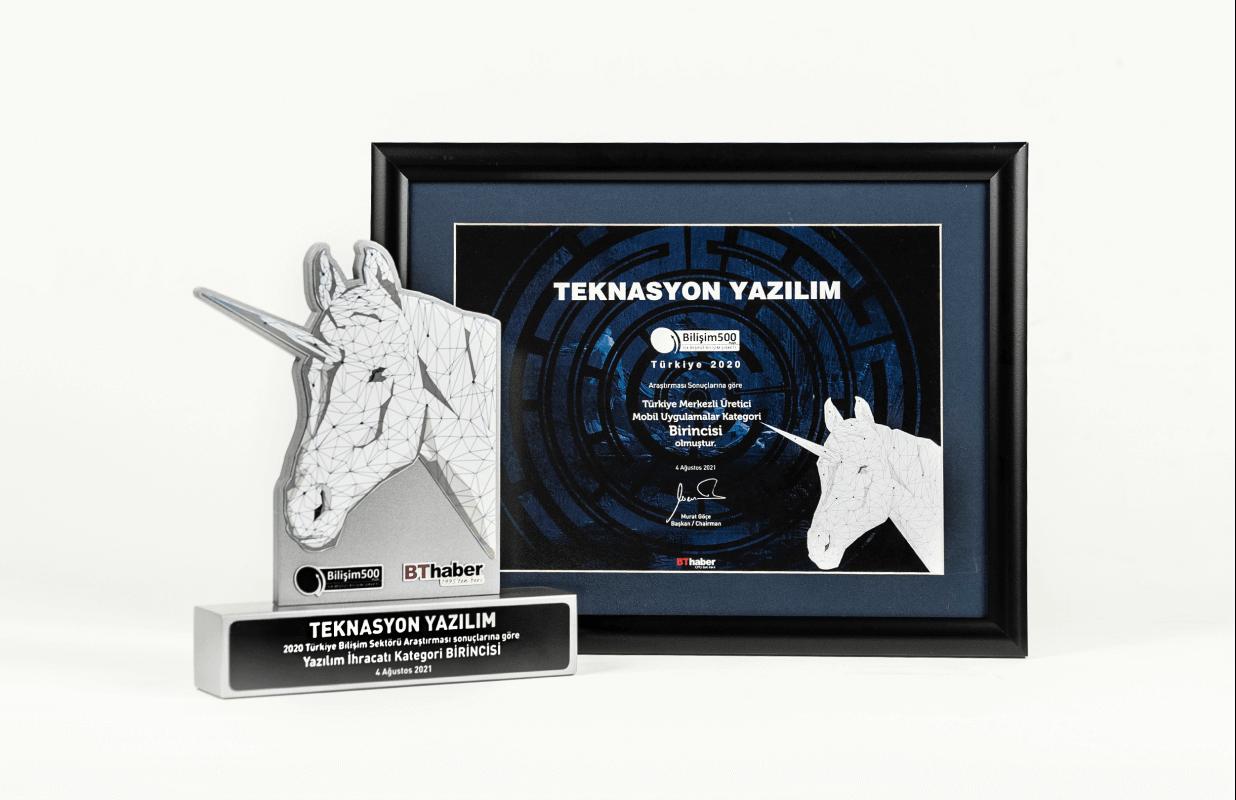Two awards to Teknasyon at the IT summit!