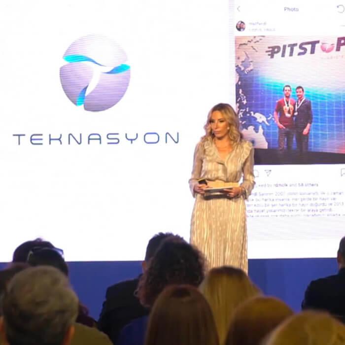 """""""Facebook İstasyon"""" ofis açılışında Teknasyon'un başarısı konuşuldu!"""