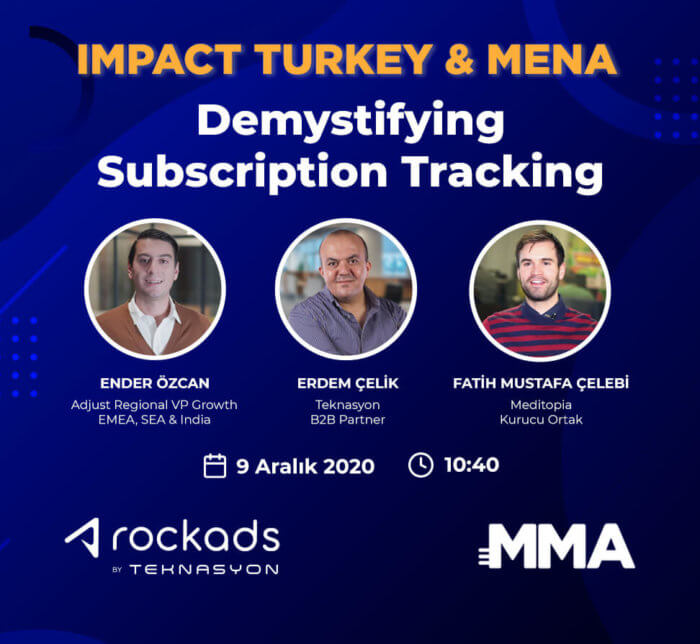 "Teknasyon will attend as a speaker to the event ""Impact Turkey & MENA""."