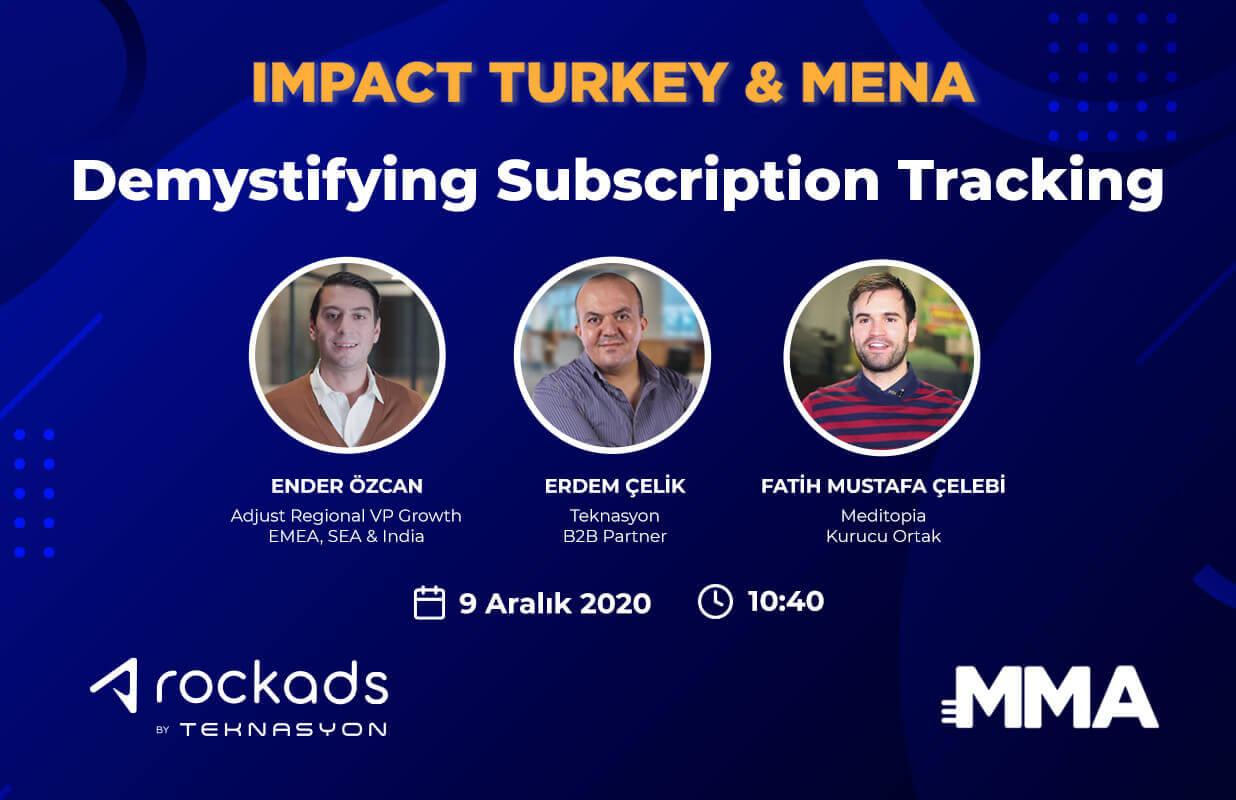Teknasyon Impact Turkey & MENA etkinliğine konuşmacı olarak katılıyor!