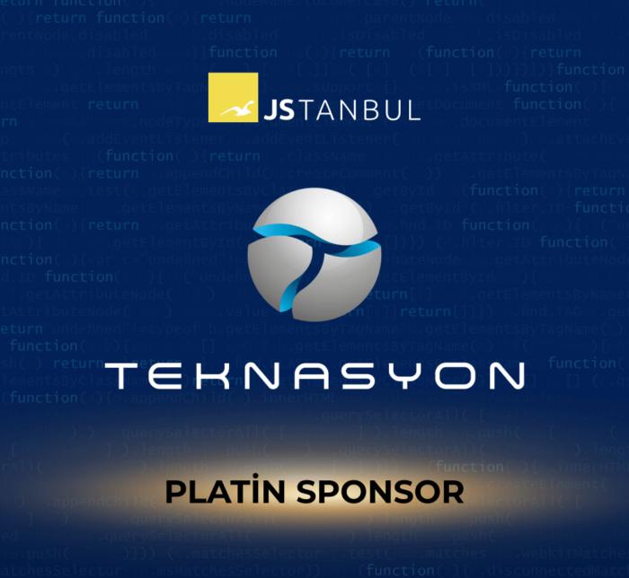 JSTANBUL İstanbul JavaScript Konferansı'nda Platin Sponsor olduk.