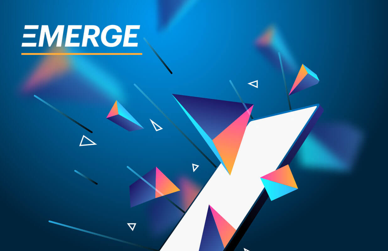 We sponsored EMERGE, the most important technology conference in Eastern Europe.