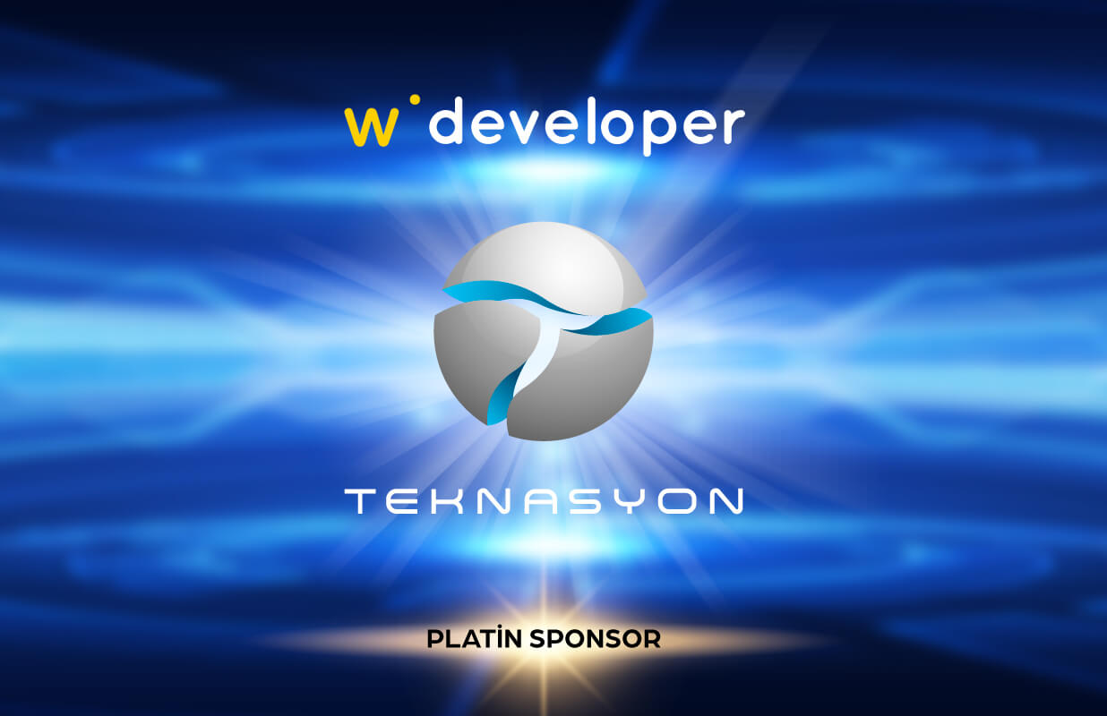 Teknasyon is the Platinum Sponsor for Webrazzi Developer!