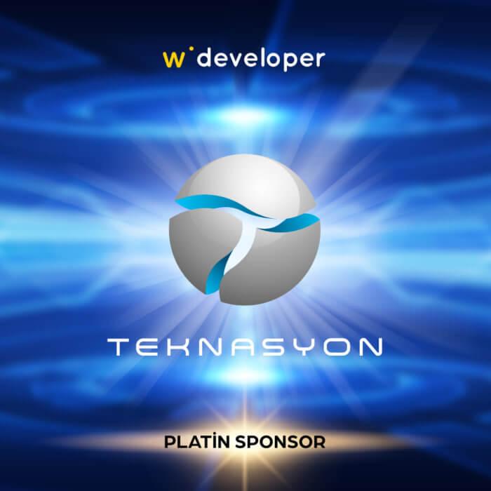 Teknasyon is the Platinum Sponsor for Webrazzi Developer!