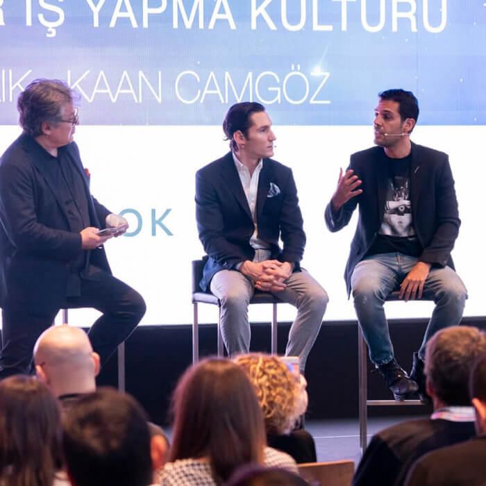 "Burak Sağlık attended as a speaker to the event ""Turkey Entrepreneurship Ecosystem 2020""."