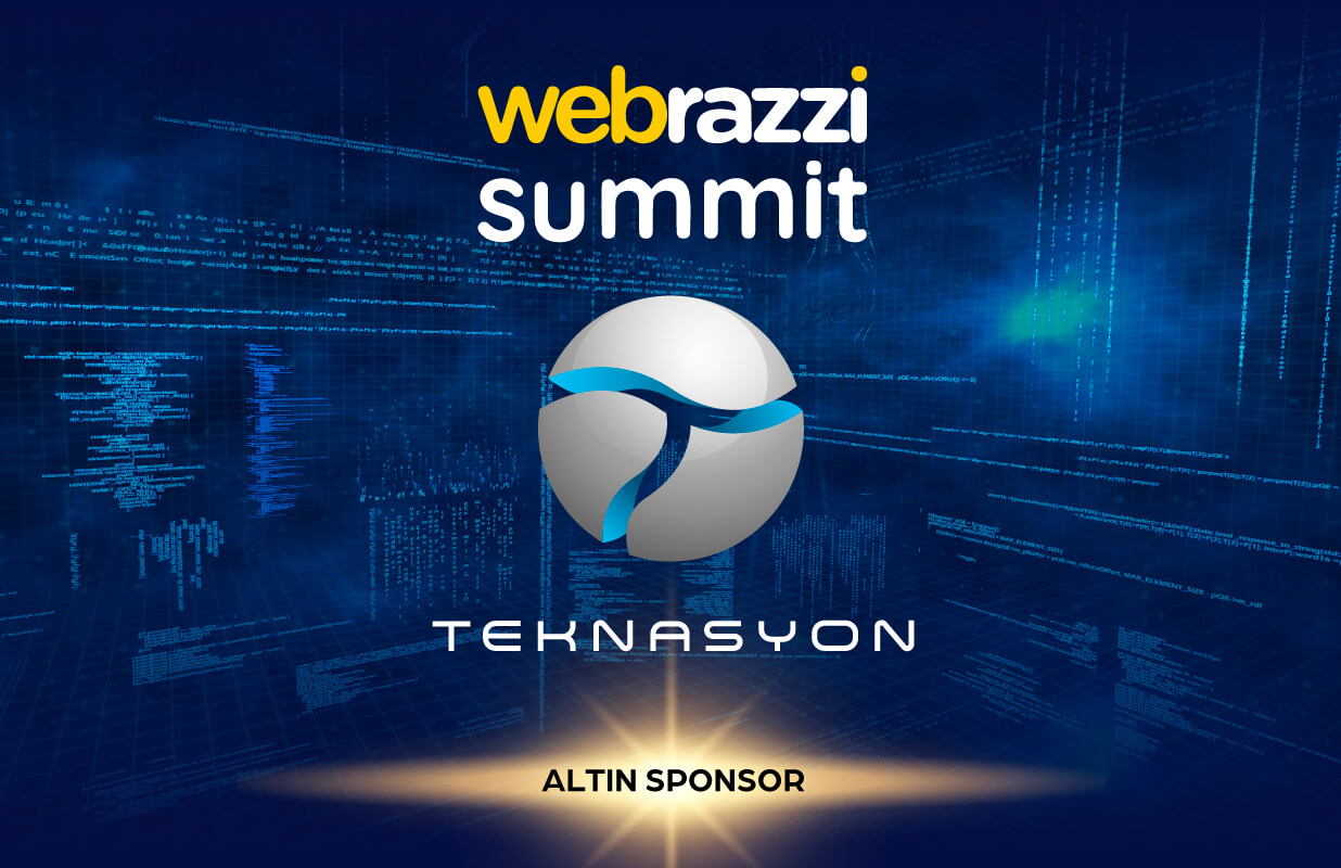 Teknasyon is one of the Gold Sponsors of Webrazzi Summit!