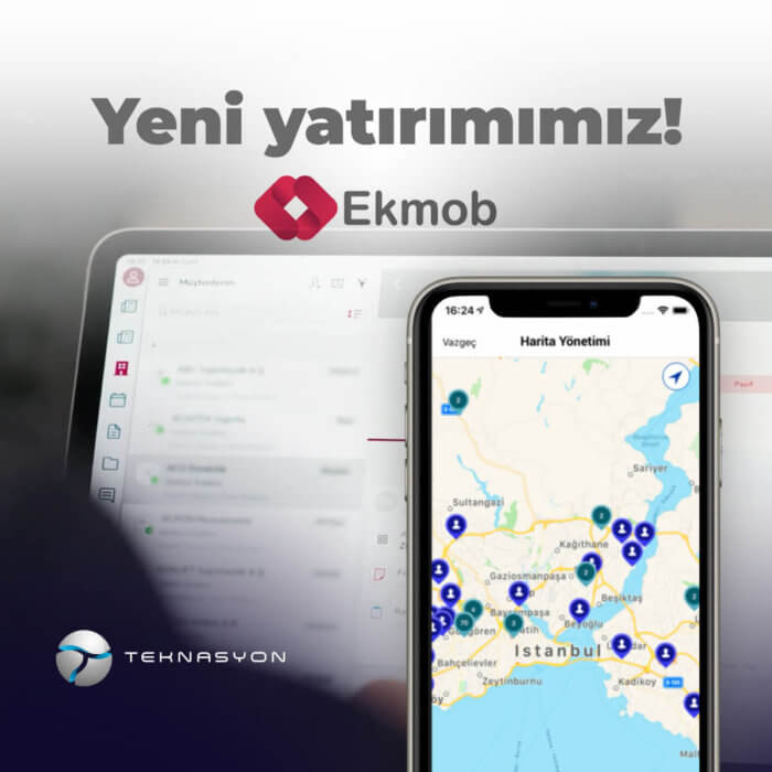 Our new investment is in Ekmob!